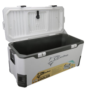 COHO 165 QUART JUMBO COOLER WITH POLYURETHANE INSULATION