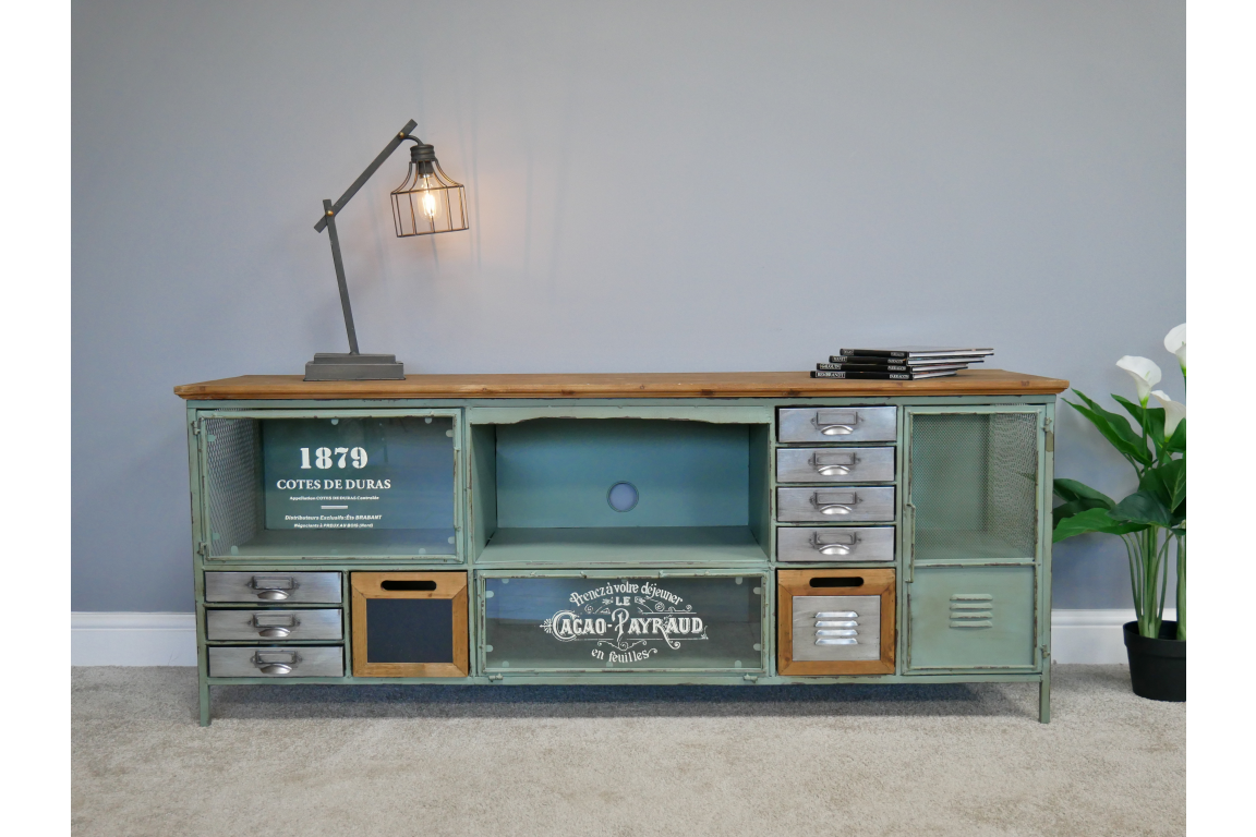 Industrial Large TV Cabinet 2