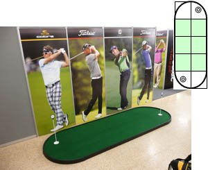 Nylon Modular Putting Green 4ft x 10ft