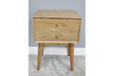 Acacia Solid Wood Bedside Cabinet 6