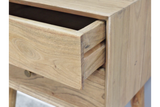 Acacia Solid Wood Bedside Cabinet 4