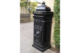 Aluminium Postbox Black