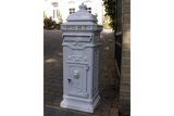 Aluminium Postbox White