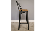 Elm Bar Stool High Back 5