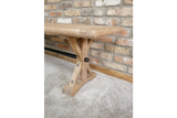 Elm Wood Dining Bench 2