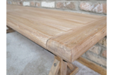 Elm Wood Dining Bench 3