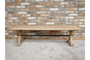 Elm Wood Dining Bench 5