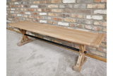 Elm Wood Dining Bench 6