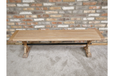 Elm Wood Dining Bench 7