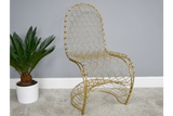 Fancy Gold Finish Chair 10