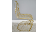 Fancy Gold Finish Chair 6