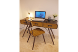 Retro Industrial Chair and Desk