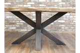 Living Edge Acacia Dining Table 3