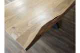 Living Edge Acacia Dining Table 6