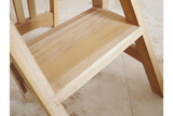 Mahogany Chair and Step 5