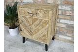 Mango Bedside Drawer and Cabinet 5