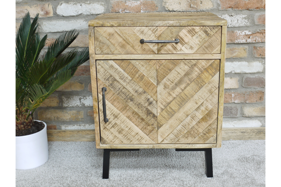 Mango Bedside Drawer and Cabinet 6