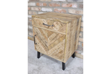 Mango Bedside Drawer and Cabinet 8