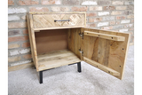 Mango Bedside Drawer and Cabinet