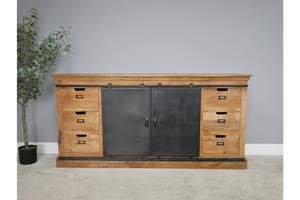 Mango Industrial Large Sideboard 6