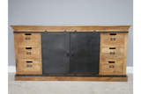 Mango Industrial Large Sideboard 7