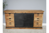 Mango Industrial Large Sideboard 8