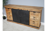 Mango Industrial Large Sideboard