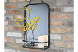 Metal Mirror with Shelf 3