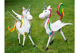 Metal Rainbow Unicorns