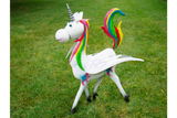 Metal Rainbow Unicorn Female 2