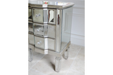 Mirrored Bedside Cabinet 4
