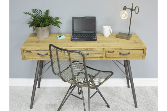 Modern Solid Wood Desk