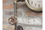 Right Angle Pipe Clock 3