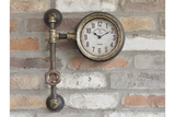 Right Angle Pipe Clock 4
