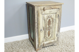 Recycled Wood Bedside Cabinet 12