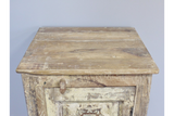 Recycled Wood Bedside Cabinet 13