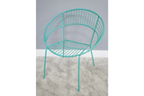 Retro Garden Chair Blue 3
