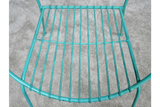 Retro Garden Chair Blue 5