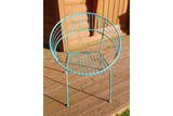 Retro Garden Chair Blue 2