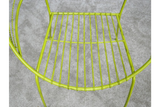 Retro Garden Chair Yellow 3