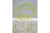 Retro Garden Chair Yellow 6