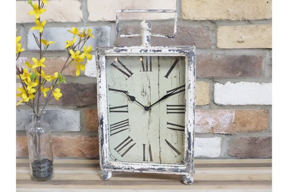 Rustic Mantelpiece Clock