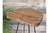 Sheesham Wood Bar Stool 4