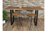 Sheesham Wood Bar Stool6