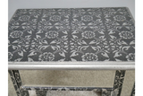 Silver Embossed Side Table 3