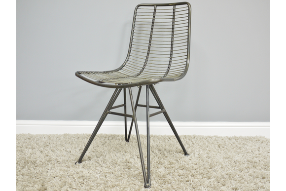 Slim Metal Chair