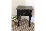 Small Bedside Cabinet Black