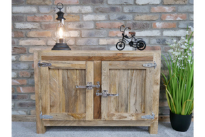 Small Solid Wood Sideboard