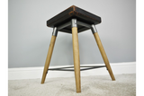 Small Square Wooden Stool 5