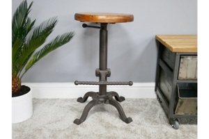 Circular Adjustable Mixed Stool 3